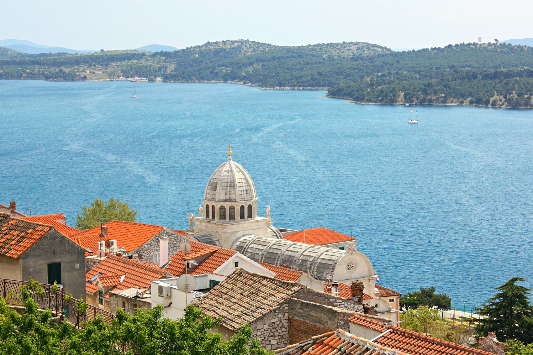 Sibenik St James cathedral in Croatia,Balkan