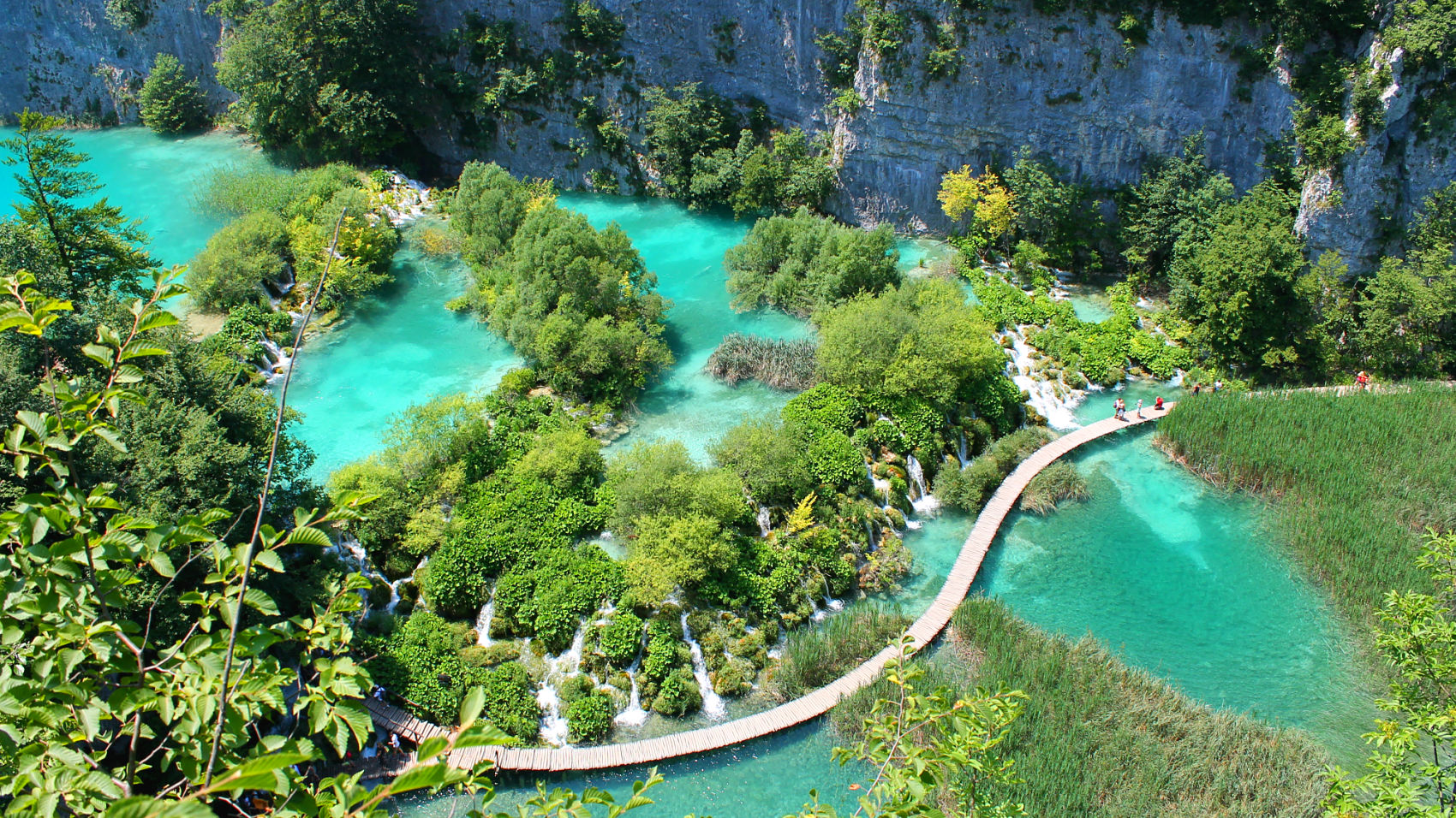 Beautifull Plitvice lakes ,Croatia,Balkan