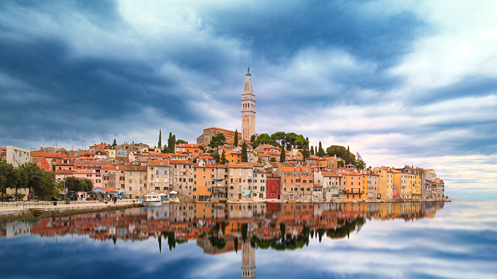 Rovinj from the water ,Croatia,Balkan