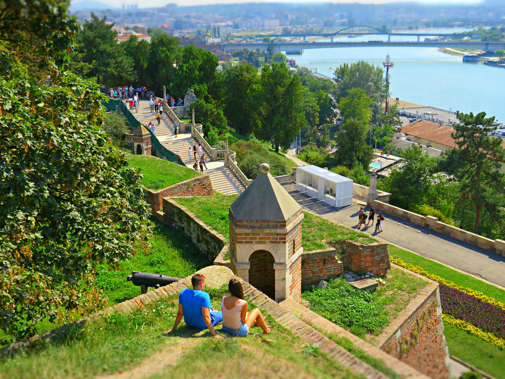 Belgrade fortress,Serbia,Grand Balkan tour
