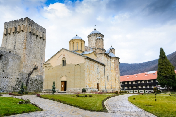 Manasija monastery one day trip Belgrade