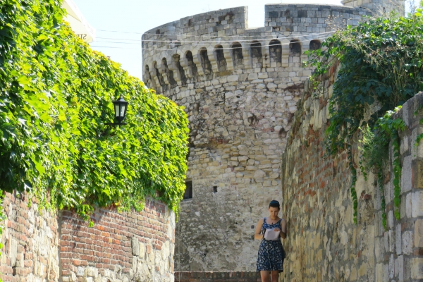 Fortress Belgrade part of Serbia medieval tour