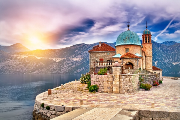 Montenegro Lady of the rocks island