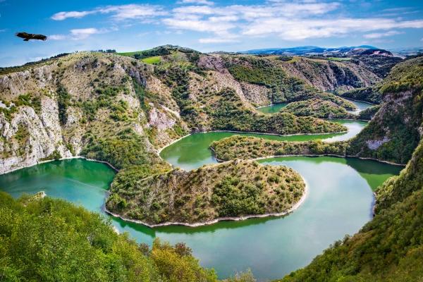 Uvac lake Serbia tour