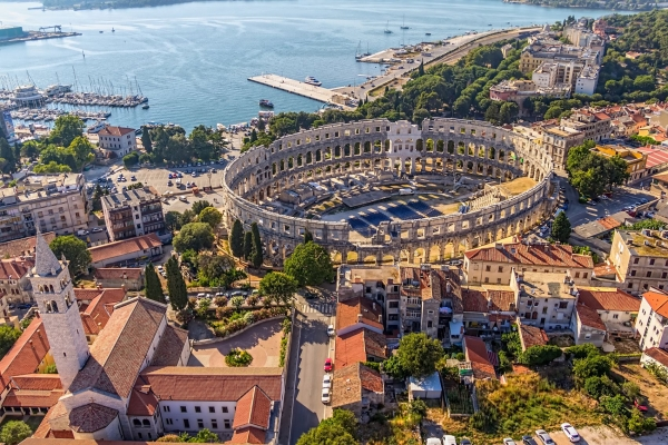 Coloseum in Pula, Croatia tour