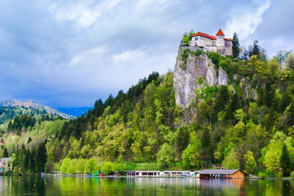 Bled Lake and castle Slovenia tour